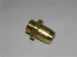 Cupla aer metalica fi8 M16*1,5