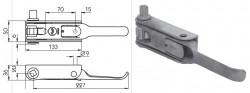 Intinzator prelata dreapta, fi24, Sesam/Edscha, patrat 12x12mm, 1,11kg. Suer. Cod: 670905102