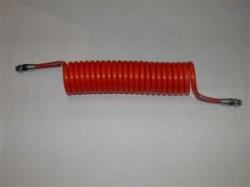 Furtun aer M16 6.5m rosu