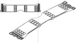 Conector prelata tip Sesam Multiliner L-400mm. Cod: 650.000208