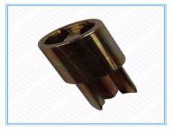 Dop inferior bara intindere prelata, Sesam/Edscha, fi34, 0,20kg, baza 13x13. Suer, material alama. Cod: 670999206