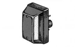 Lampa stanga numar inmatriculare Iveco Stralis (06->)
