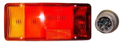 Lampa stop stanga 1 mufa mica Iveco Daily (99-06)