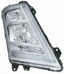 Far dreapta argintie cu reglaj manual Volvo FH 12/13/16 Euro 6