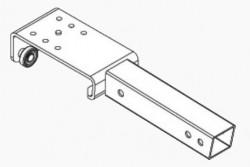 Rola bara acoperis Edscha Liteplus Steel. Cod: 4038052110