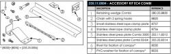 Set montaj Sesam Multiliner Combi 235.11.004. Cod: 235.11.0004