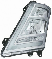 Far stânga argintie cu reglaj manual Volvo FH 12/13/16 Euro 6