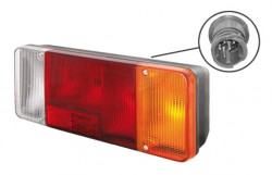 Lampa stop dreapta 1 mufa mica Iveco Daily (99-06)