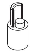 Dop inferior bara intindere prelata, Sesam/Edscha, fi27, 0,14kg, baza 13x13. Suer, material alama. Cod: 670900321