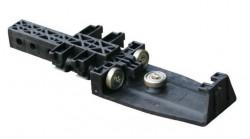 Rola bara acoperis Edscha CS Ultraline I, plastic. Cod: 4038054360