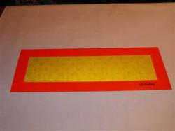 Tabla reflectorizanta plina (set de 2 buc)
