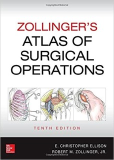 Slika Zolingers Atlas of Surgical Operations 10th, 2016