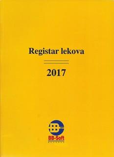Registar Lekova  sa CD om 2017 godina