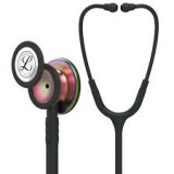 Littmann Classic III Monitoring Stethoscope: Black - Rainbow Finish 5870