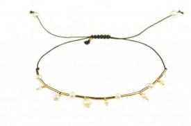 bratara cu perle de cultura din gold-filled de 14 k / 20