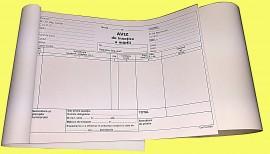 Aviz de insotire a marfii, nepersonalizat A5, 50set x 3ex, a-n