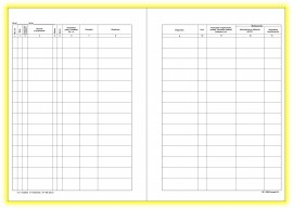 Registru consultatii A4+, 200 file, coperta carton