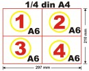 Chitantier A6, 50 set x 3ex, an, personalizat