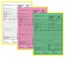 Carnet scrisoare transport/CMR, A4, 50 set x 3 ex., an, personalizat