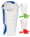 Shaker pentru salata, cu furculita