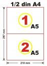 Formular de incarcare-descarcare deseuri nepericuloase, A5, 3ex., alb-negru, personalizat