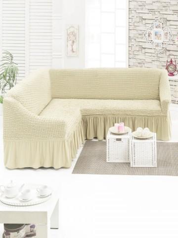 Poze Husa pentru canapea tip Coltar culoare Bej Natur