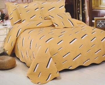 Poze Cuvertura de pat din bumbac brodat + fete perna ES02