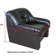 Set huse elastice pentru canapea 3 Locuri si 2 fotolii, fara volanas, Verde