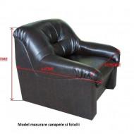 Husa pentru canapea de 2 locuri Gri