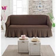 Husa pentru canapea de 2 locuri Maro
