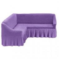 Husa pentru canapea tip Coltar culoare Lila