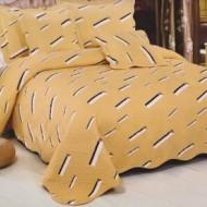 Cuvertura de pat din bumbac brodat + fete perna ES02
