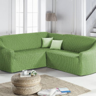 Husa elastica pentru Coltar fara volanas culoare Verde