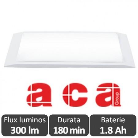 ACA -MAZOR 440-8/led - Corp slim de iluminat de urgenta cu LED, autonomie 180 min