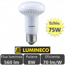 Poze Bec LED NEXT R63 8W 560lm E27 230V alb-cald