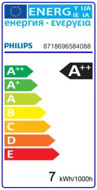 Bec LED Philips - CorePro LED spot MV 7W R80 230V E27 alb-cald