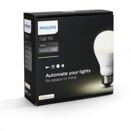 Philips - Set becuri HUE Starter Kit 9.5W alb-cald A60 E27 (2 becuri + 1 bridge)
