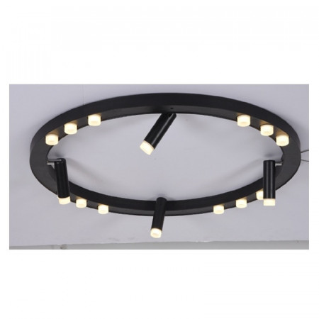 CORP ILUMINAT ACA LIGHTING JNBC48LED65BK ALUMINIU NEGRU LED INTEGRAT