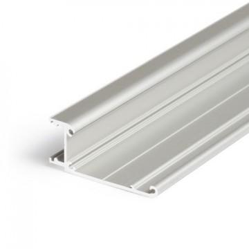 Profil LED aparent WALLE 12, Aluminiu anodizat, lungime 2m