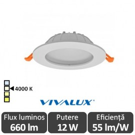 Vivalux CALIX LED 12W alb-neutru