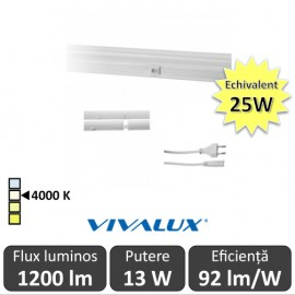 Vivalux Tub SPICA LED  13W T5 880mm 4000K alb-neutru