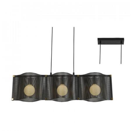 CORP ILUMINAT ACA LIGHTING`HM843P85BK METAL, NEGRU, E27