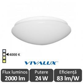 Plafonieră LED Vivalux Chiara LED 24W alb-neutru