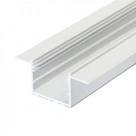 Profil LED încastrat VARIO 30-05, alb, lungime 2m