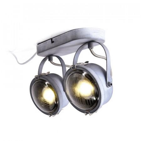 CORP ILUMINAT ACA LIGHTING AR1722W31G METAL GRI ANTICHIZAT GU10