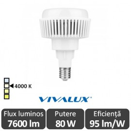 Vivalux AJAX LED 80W E40 4000K ( Alb-Neutru )