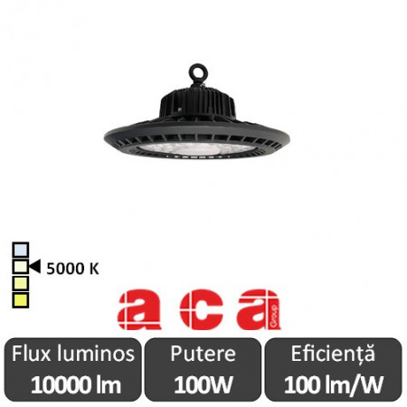 Aca Lighting-Aparat iluminat cu LED AXEL Highbay 100W