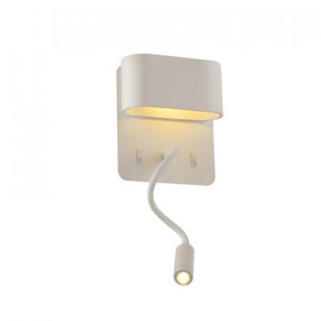 CORP ILUMINAT ACA LIGHTING V86LEDW45WH APLICA ALB LED