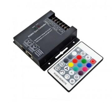 Controler RGBW telecomandă RF , 4x6A, 12-24V