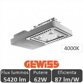 Poze Gewiss - Proiector LED industrial Smart4LED 62W, alb-neutru